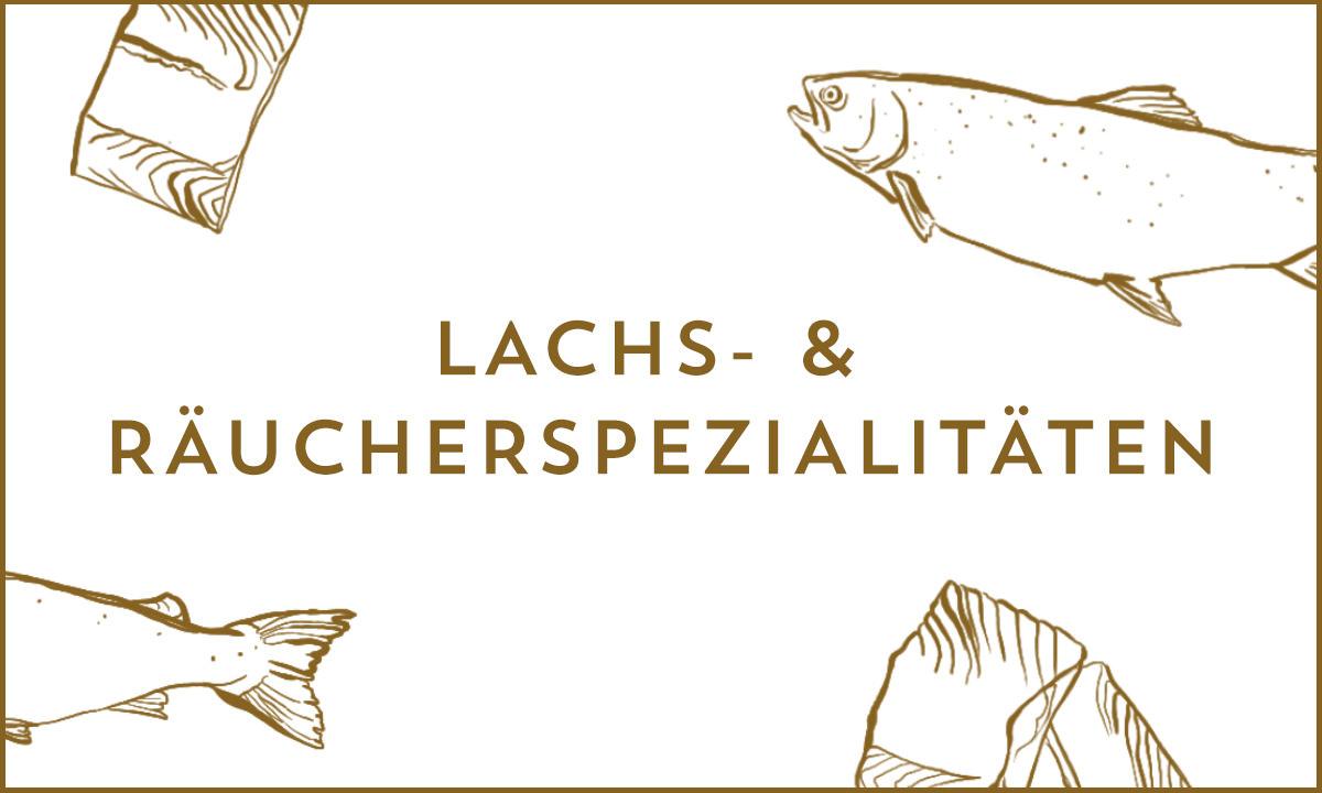 Lachs und Räucherspezialitäten