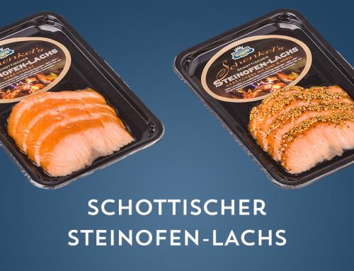 Schottischer Steinofen-Lachs